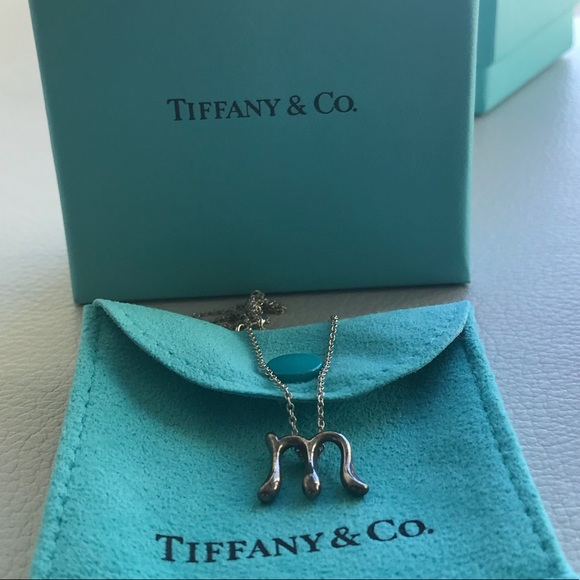a1070996f Tiffany & Co. Jewelry | Tiffany Co Peretti Initial M For Marvelous ...